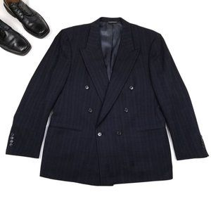 Christian Dior MONSIEUR Men's VTG Blue Blazer 42R